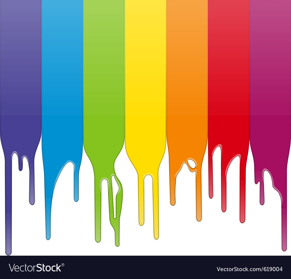Paint drips vector | Price: 1 Credit (USD $1)