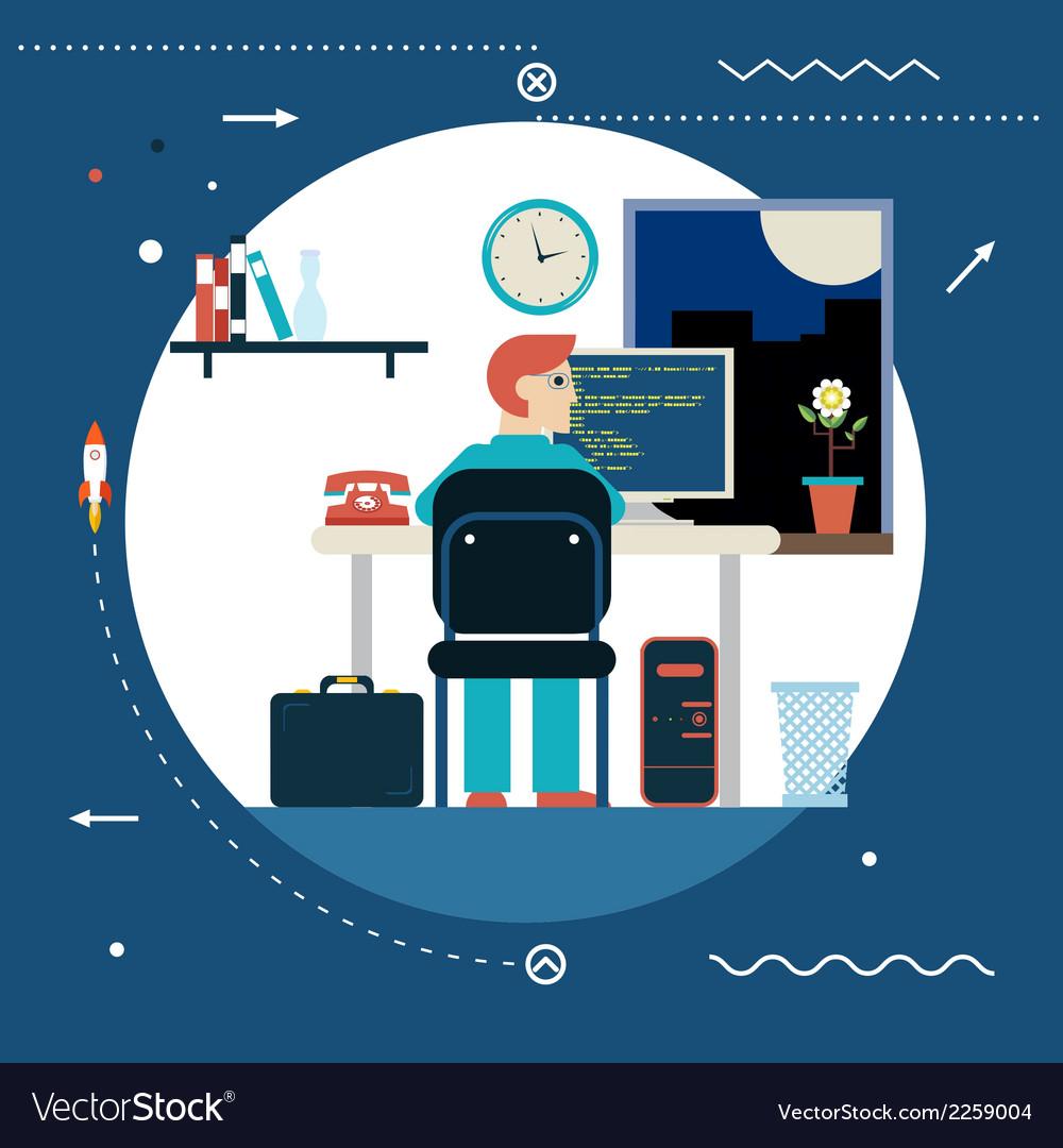 Programming and web development concept symbol vector   Price: 1 Credit (USD $1)