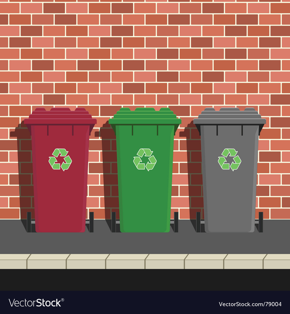 Recycling collection vector | Price: 1 Credit (USD $1)