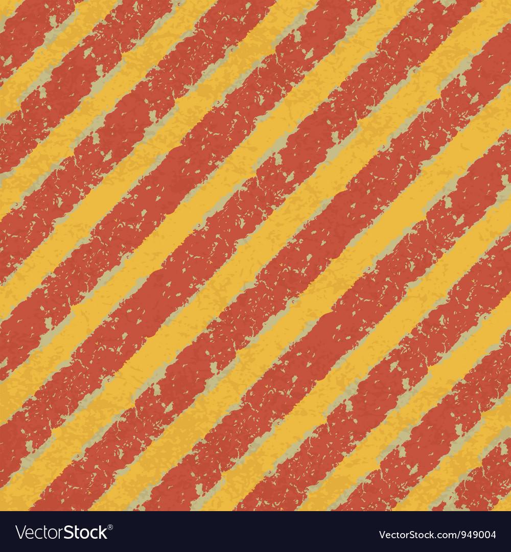 Red yellow hazard lines vector | Price: 1 Credit (USD $1)
