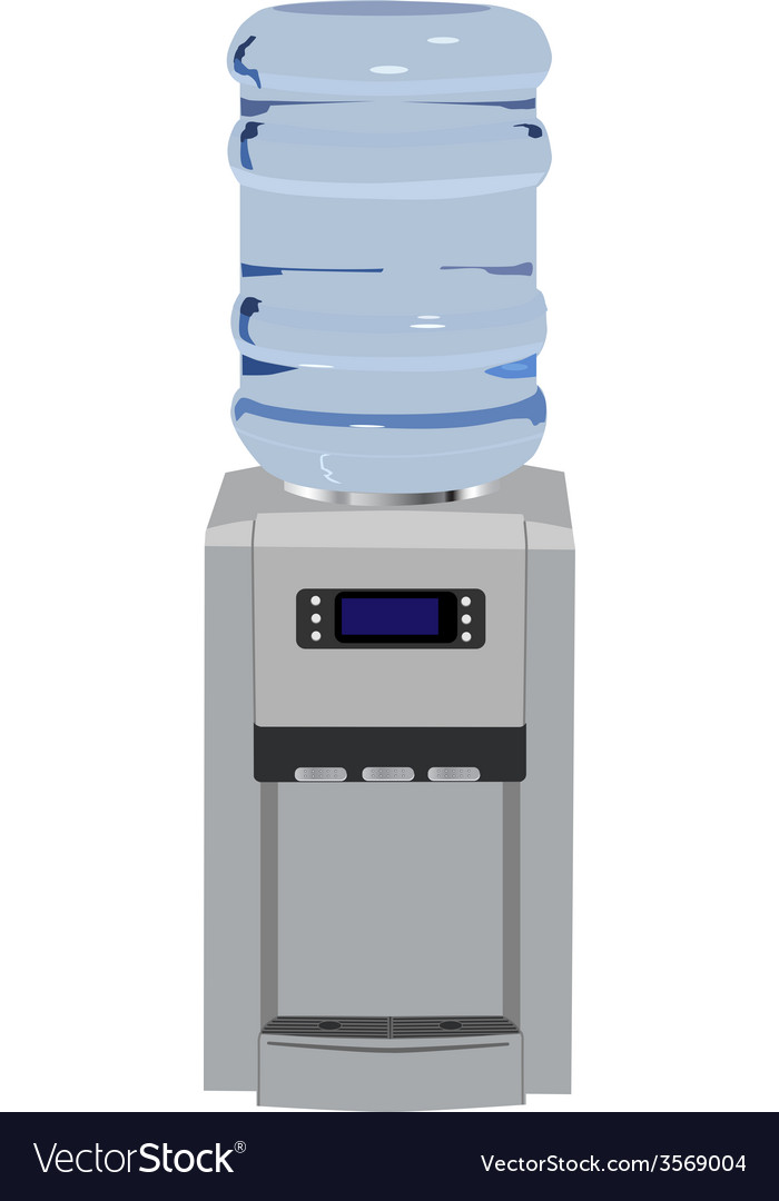 Water cooler vector | Price: 1 Credit (USD $1)
