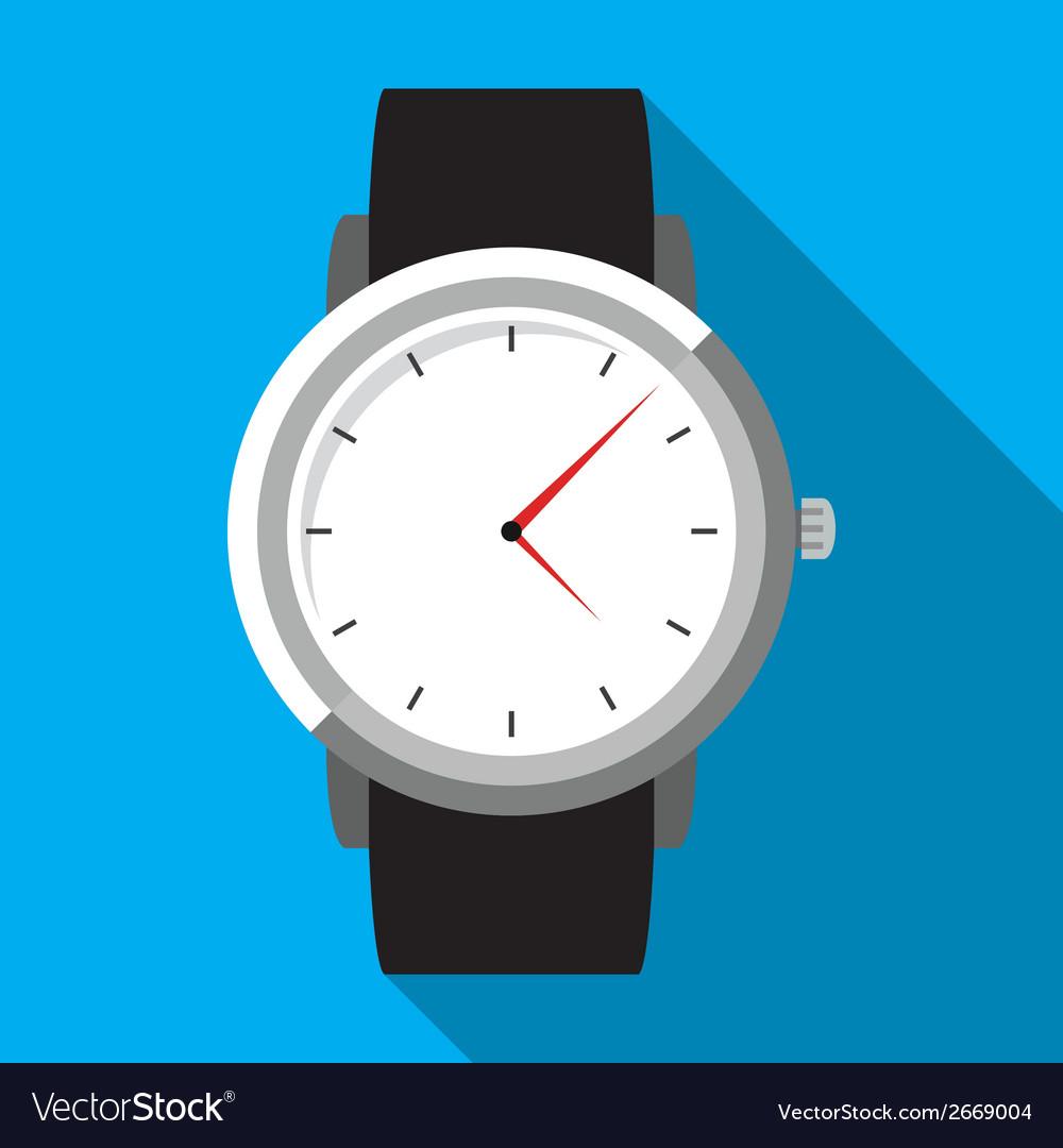 Wristwatch vector | Price: 1 Credit (USD $1)