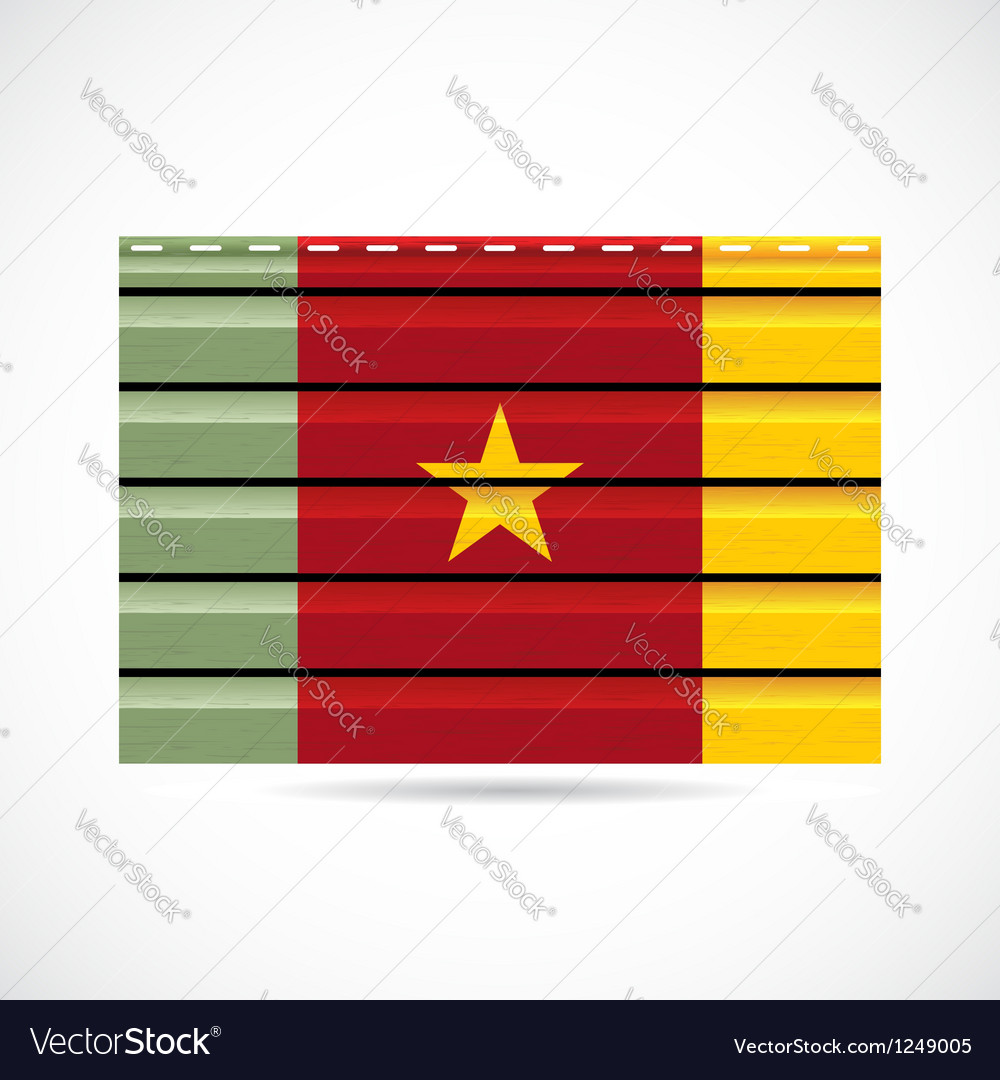 Cameroon siding produce company icon vector | Price: 1 Credit (USD $1)
