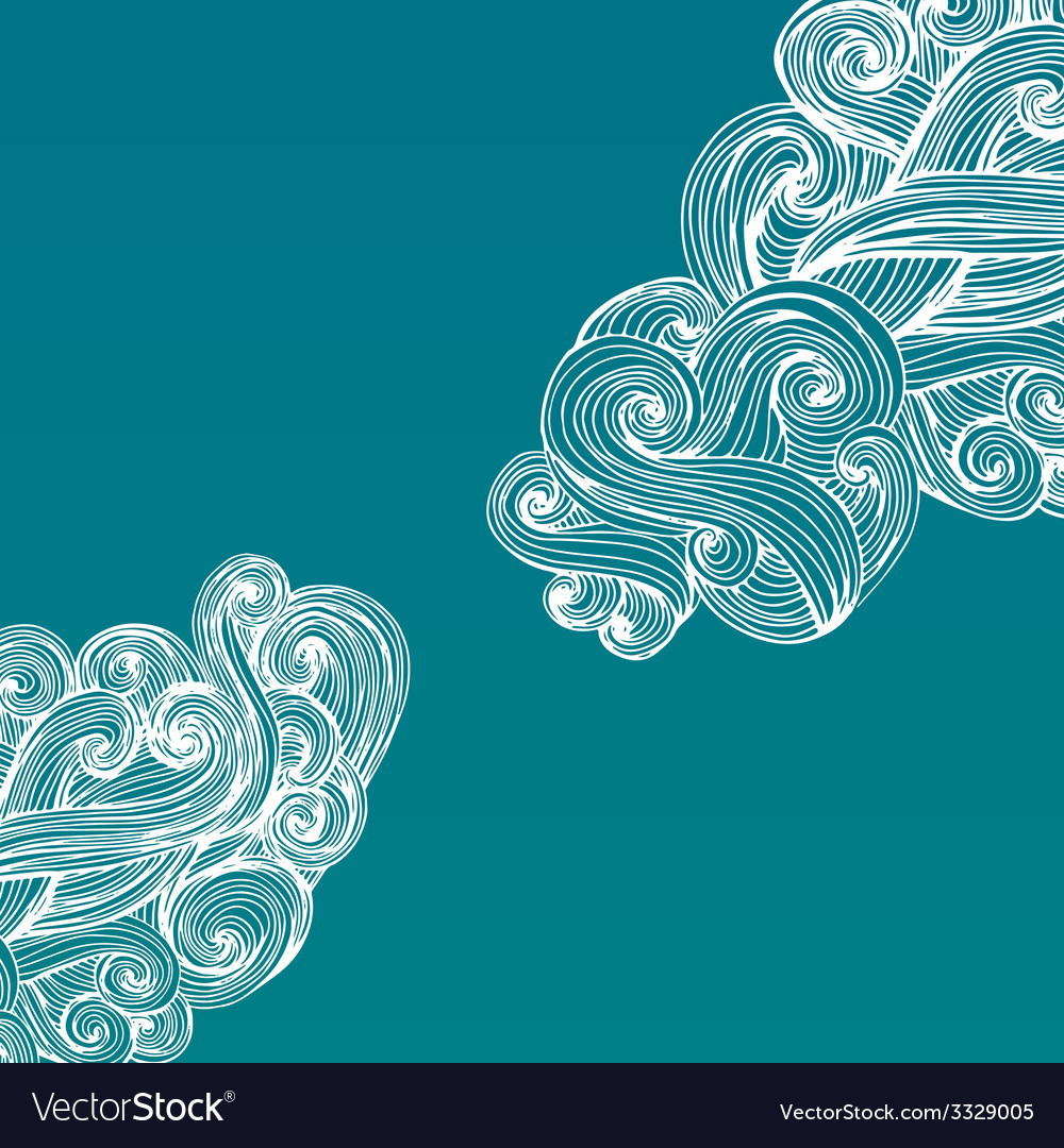 Curled frame vector | Price: 1 Credit (USD $1)