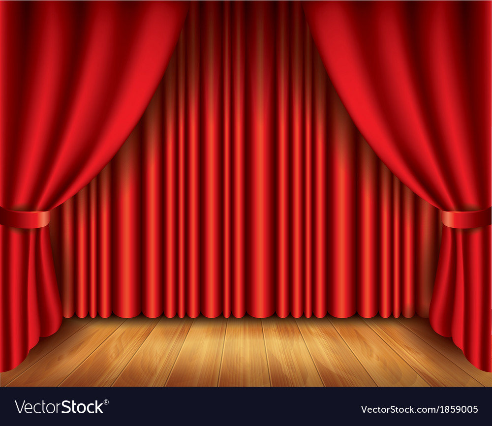 Object curtain vector | Price: 1 Credit (USD $1)