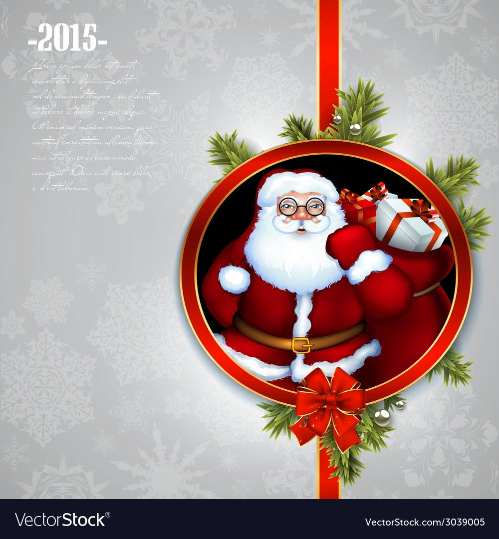 Santa claus christmas design vector   Price: 3 Credit (USD $3)