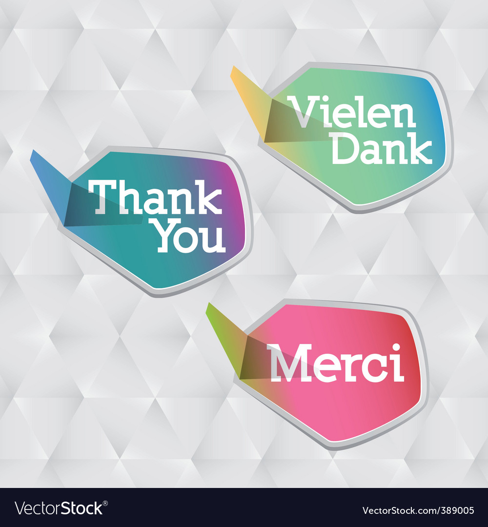 Thank you logo vector | Price: 1 Credit (USD $1)
