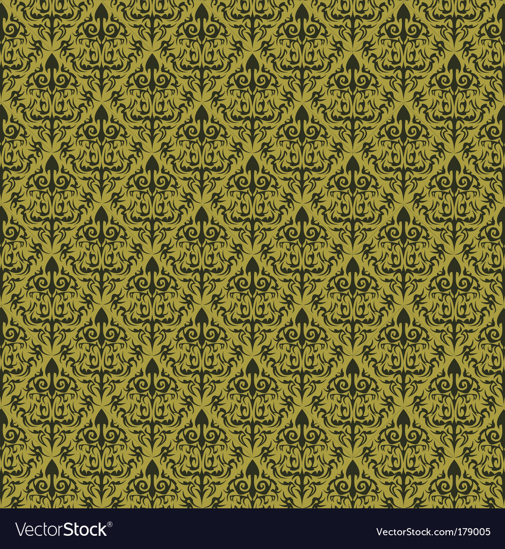 Vintage wallpaper vector | Price: 3 Credit (USD $3)