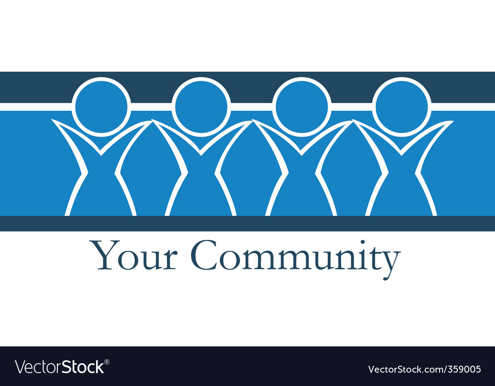 Your community vector | Price: 1 Credit (USD $1)
