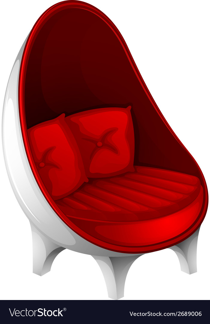 A red furniture vector | Price: 1 Credit (USD $1)