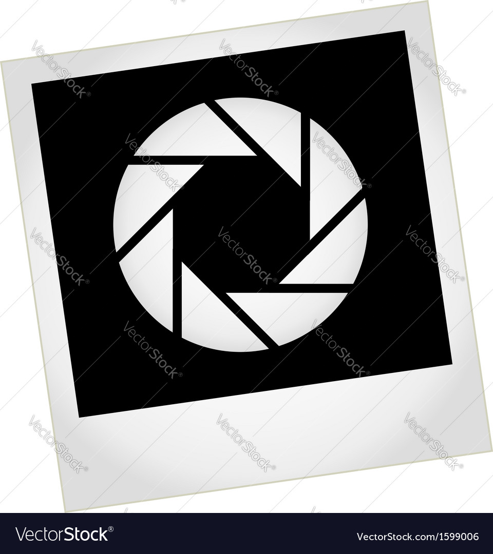 Photography logo with polaroid vector | Price: 1 Credit (USD $1)