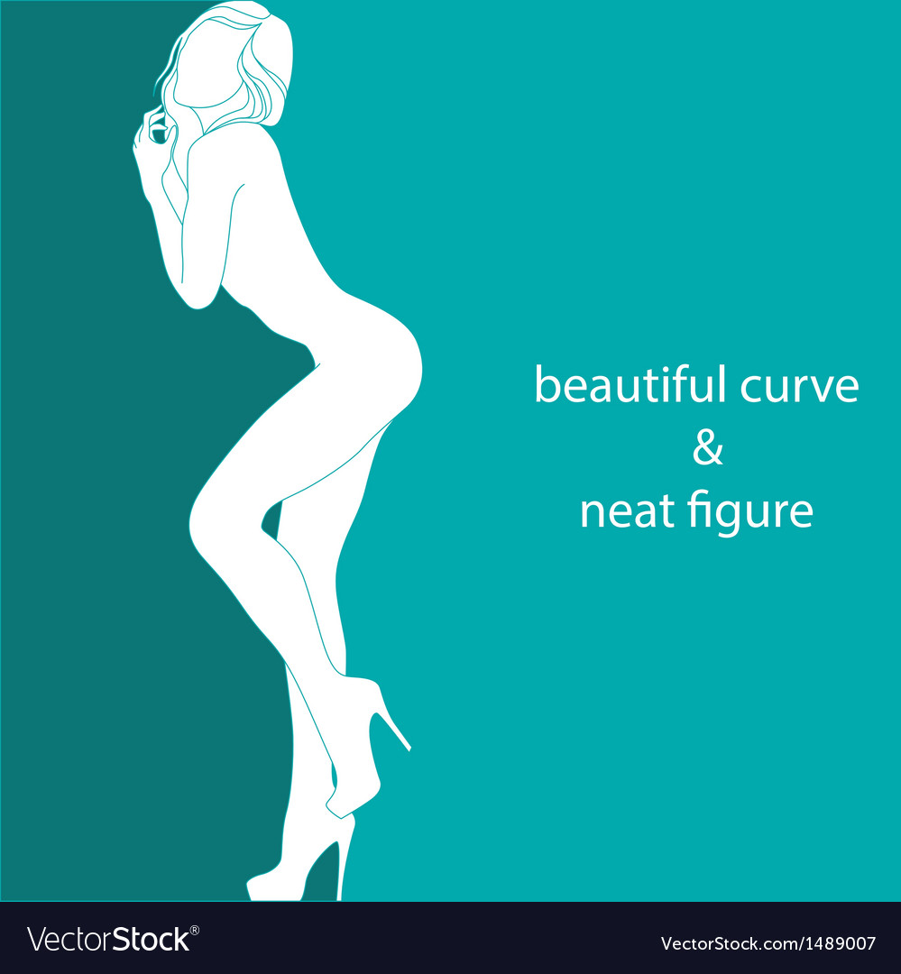 Beautiful curve and neat figure vector | Price: 1 Credit (USD $1)