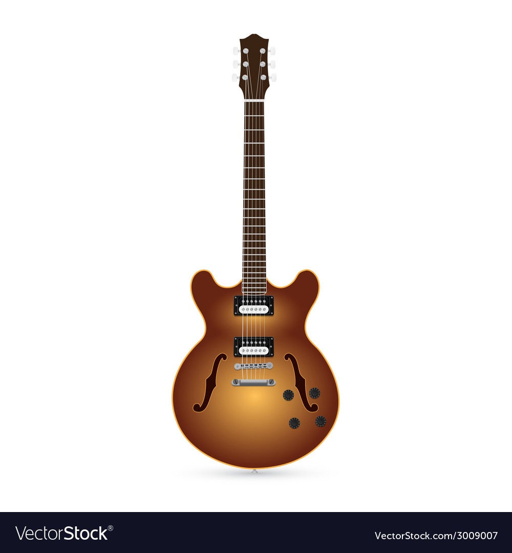 Guitar 5 vector | Price: 1 Credit (USD $1)