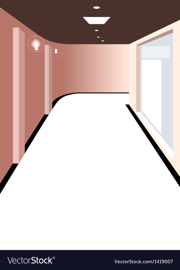 Home hallway background vector | Price: 1 Credit (USD $1)
