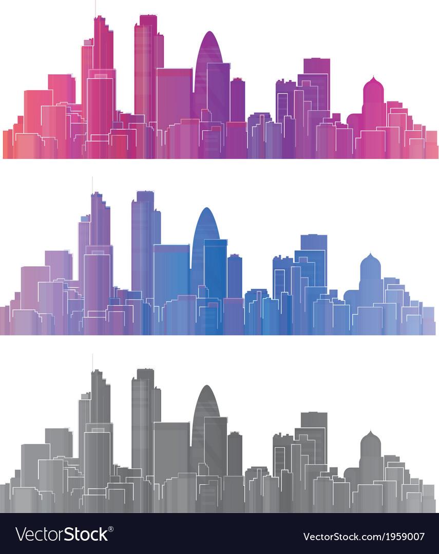 London city vector | Price: 1 Credit (USD $1)