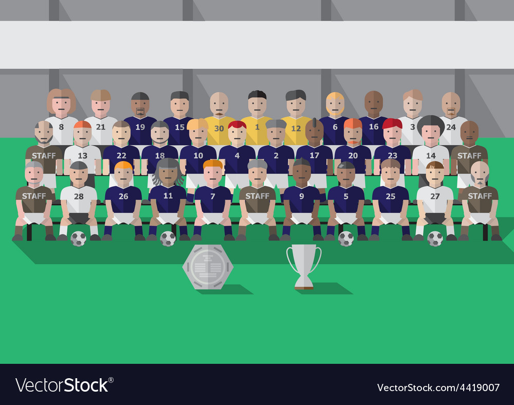 Soccer club team season vector | Price: 1 Credit (USD $1)