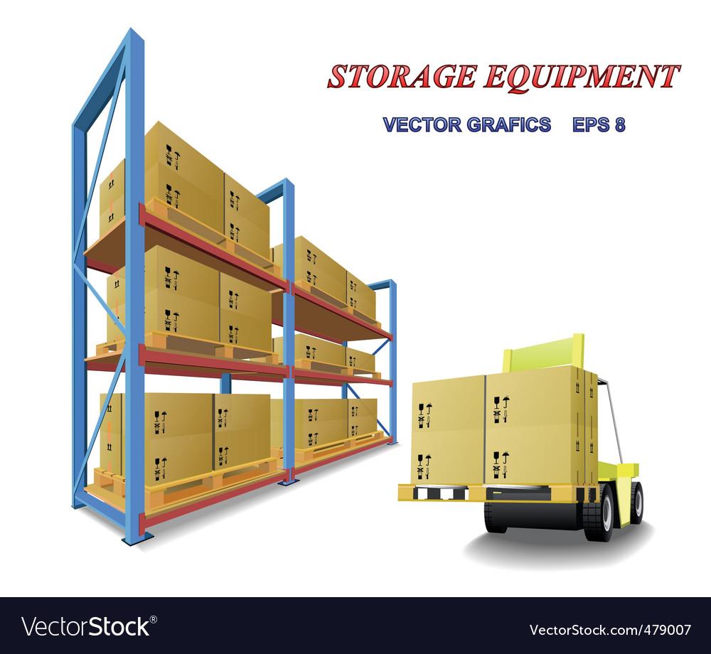 Storage equipment vector | Price: 3 Credit (USD $3)