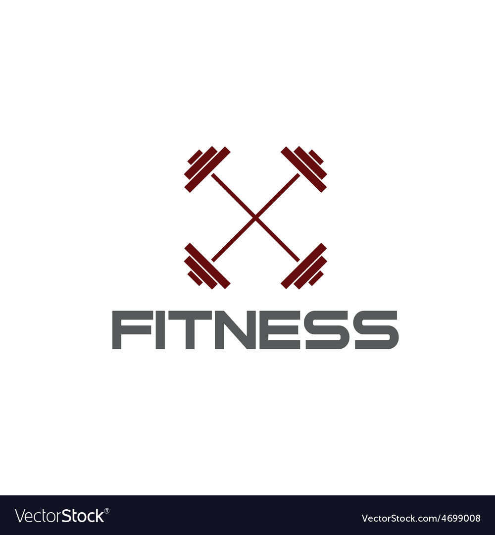 Barbell fitness vector | Price: 1 Credit (USD $1)