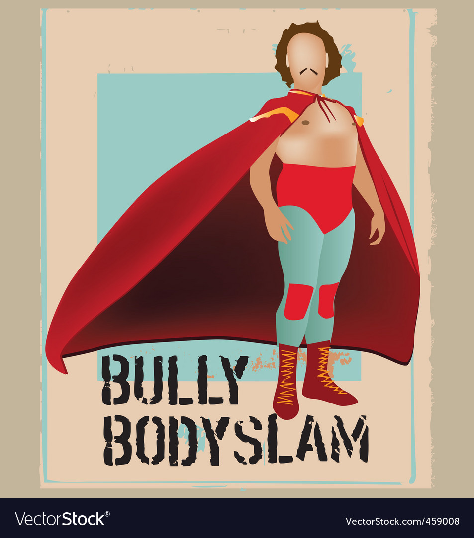 Bully problem vector | Price: 1 Credit (USD $1)