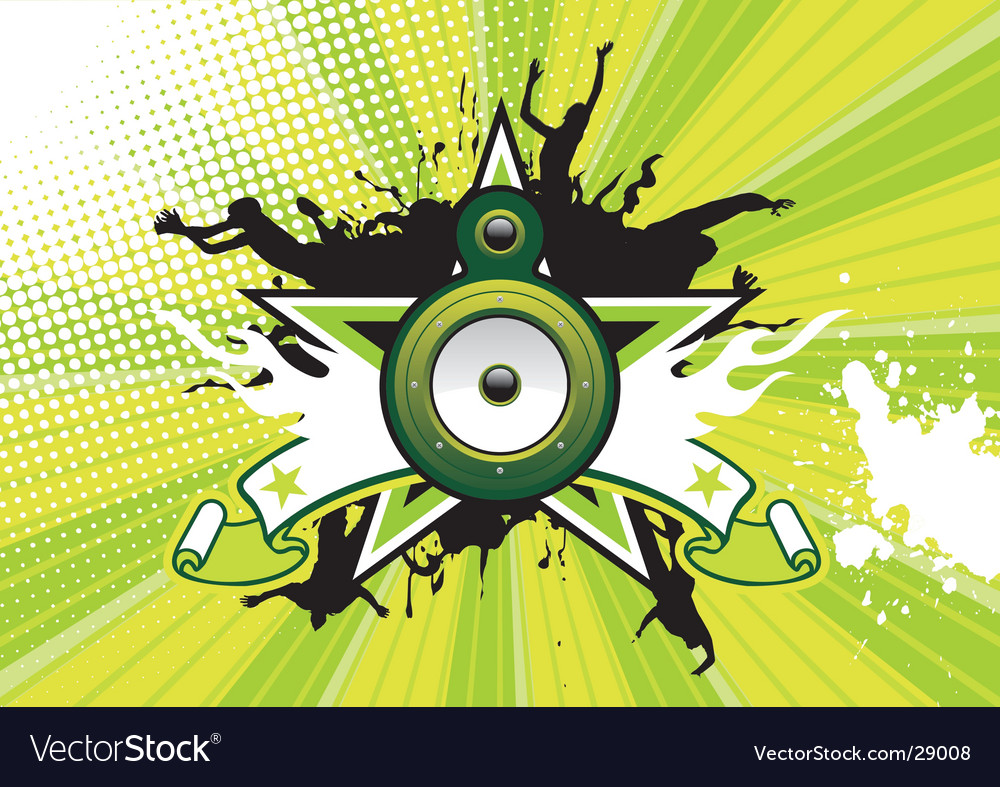 Music poster vector | Price: 1 Credit (USD $1)