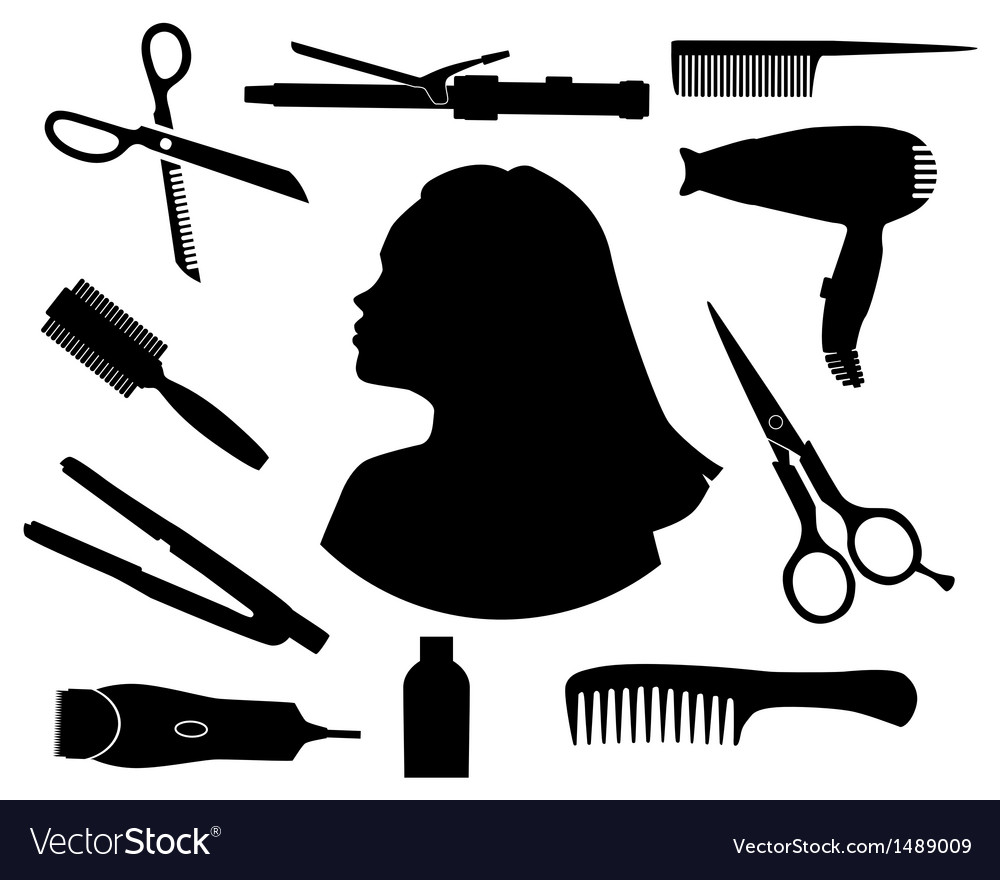 Hair salon vector | Price: 1 Credit (USD $1)
