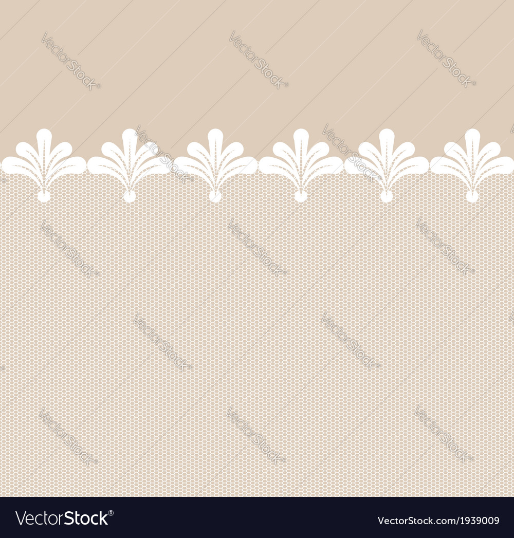Seamless lacy border vector   Price: 1 Credit (USD $1)