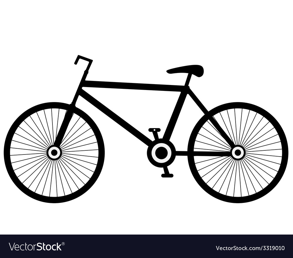 Bike black vector | Price: 1 Credit (USD $1)