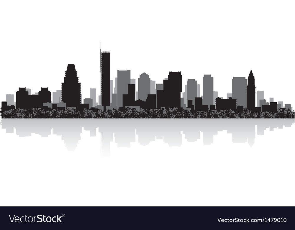Boston usa city skyline silhouette vector | Price: 1 Credit (USD $1)