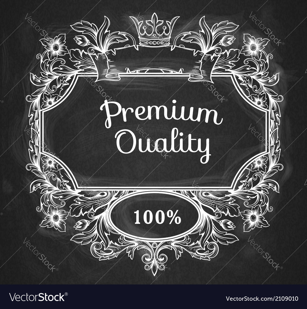 Page decoration chalkboard design vector   Price: 1 Credit (USD $1)