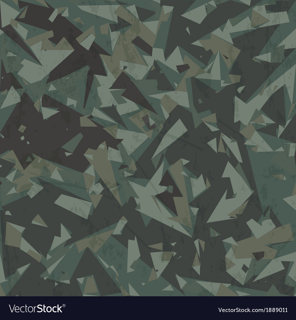 Army camouflage background vector | Price: 1 Credit (USD $1)