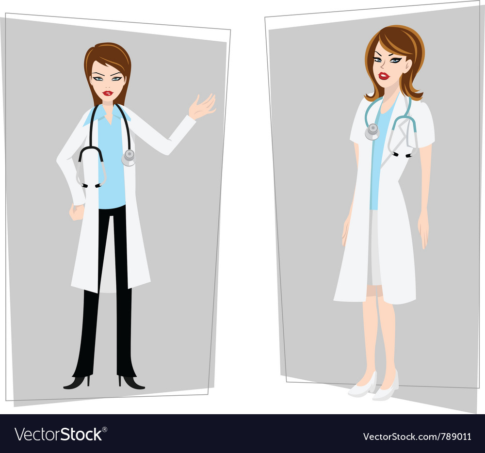 Doctor nurse female vector | Price: 3 Credit (USD $3)