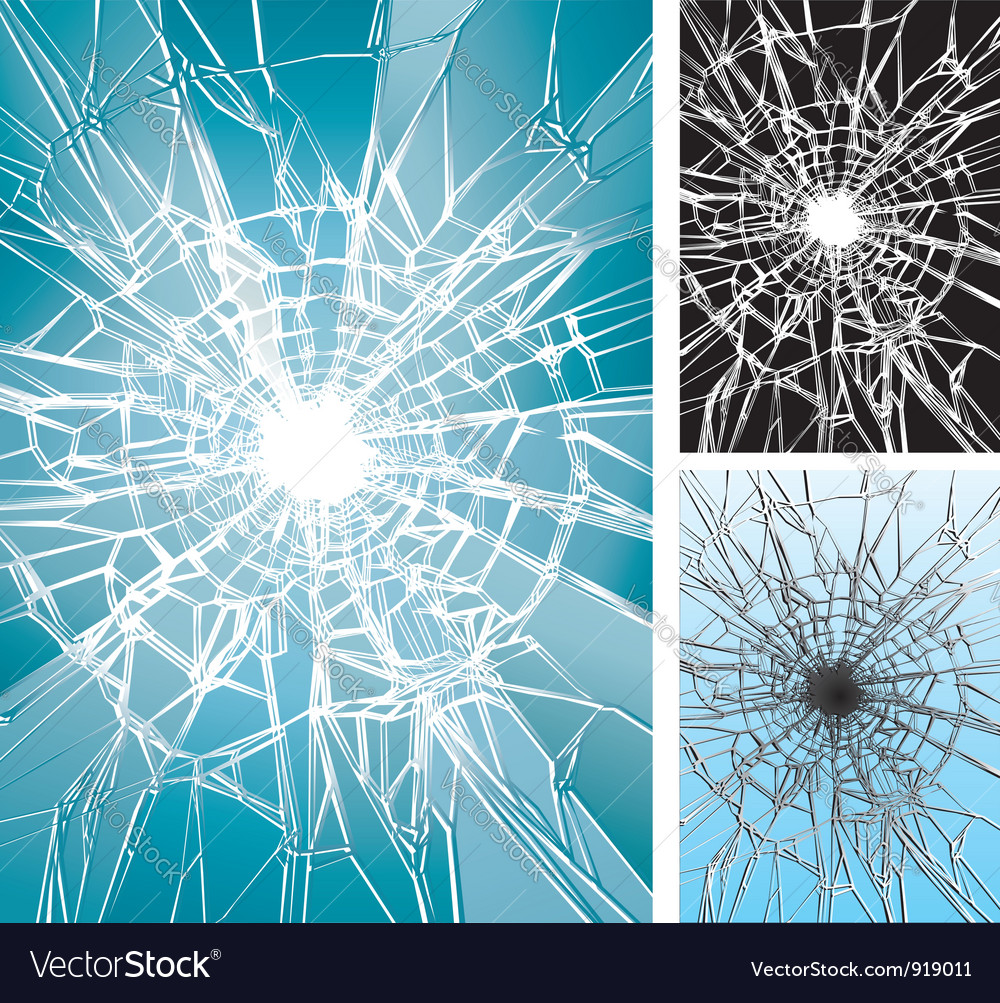 Window broken vector | Price: 1 Credit (USD $1)