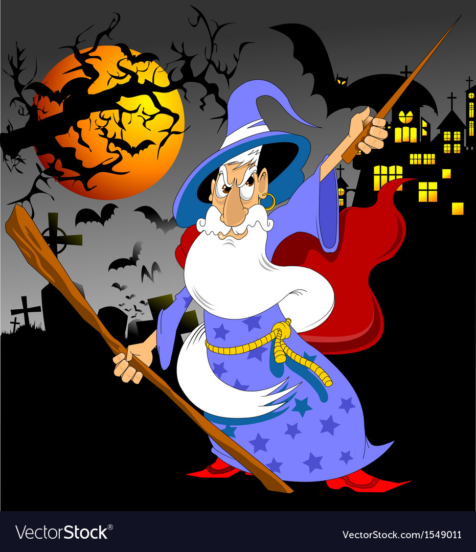 Wizard vector | Price: 3 Credit (USD $3)