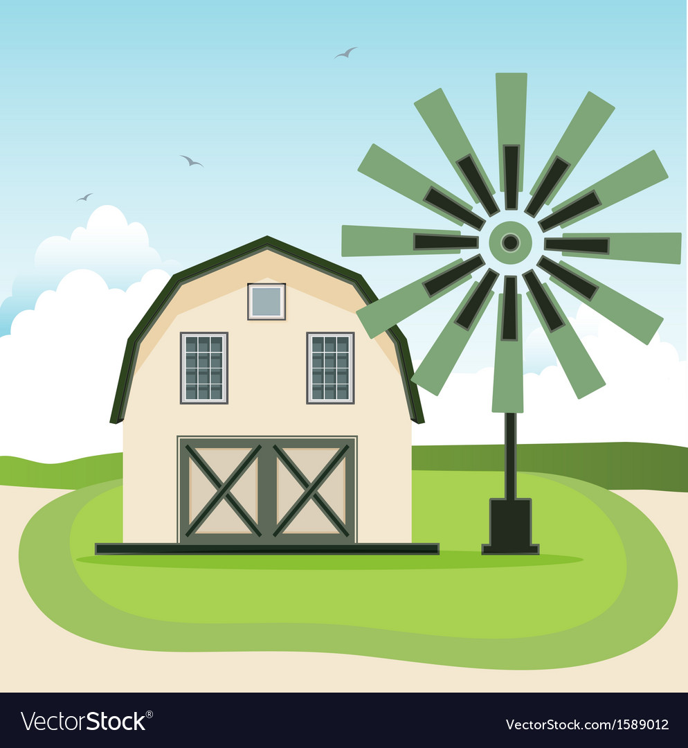 Barn vector | Price: 1 Credit (USD $1)
