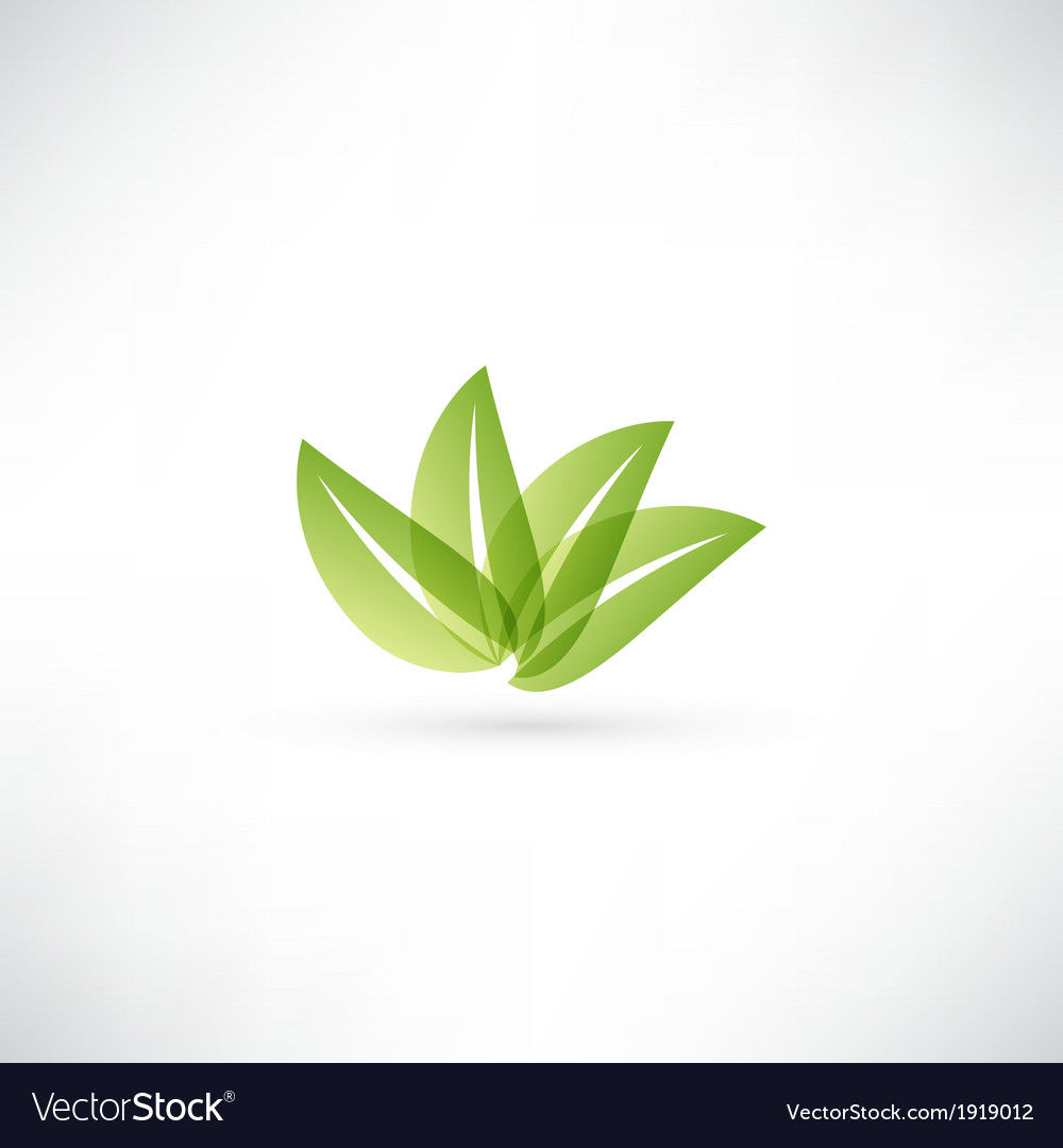 Eco icon vector | Price: 1 Credit (USD $1)