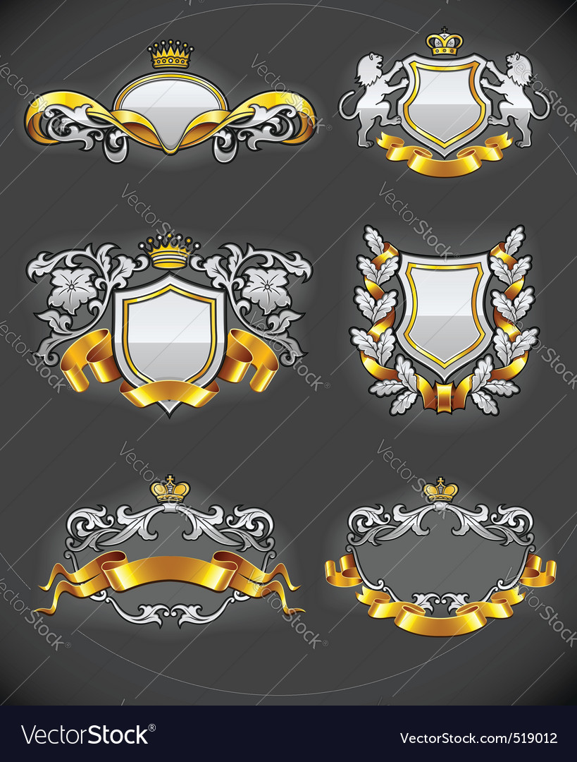 Heraldic vintage vector | Price: 3 Credit (USD $3)