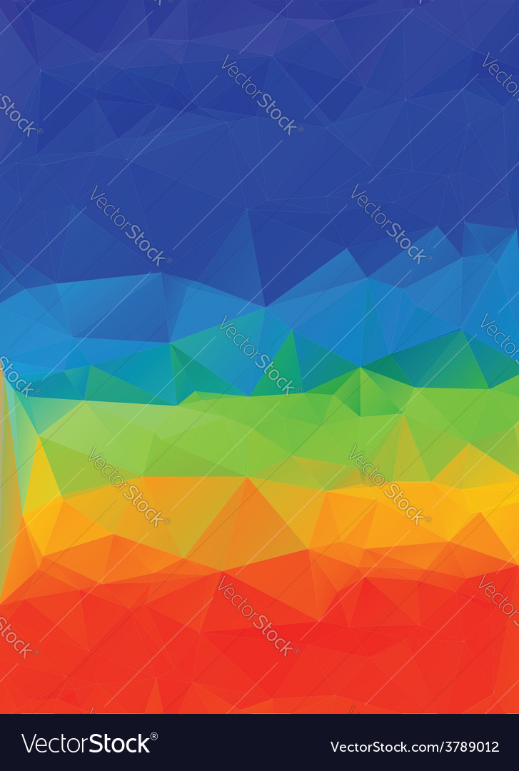 Multicolor geometric background9 vector | Price: 1 Credit (USD $1)