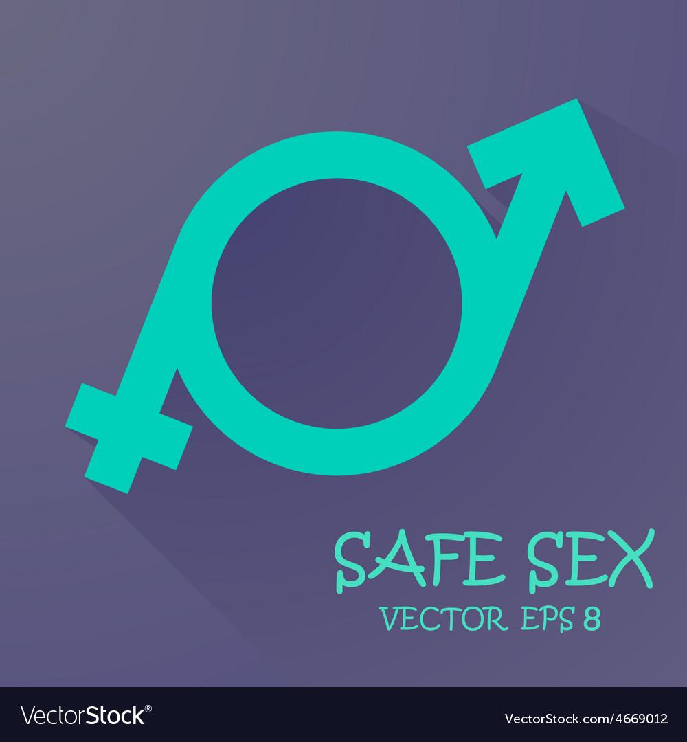 Symbol of masculinity and femininity vector | Price: 1 Credit (USD $1)