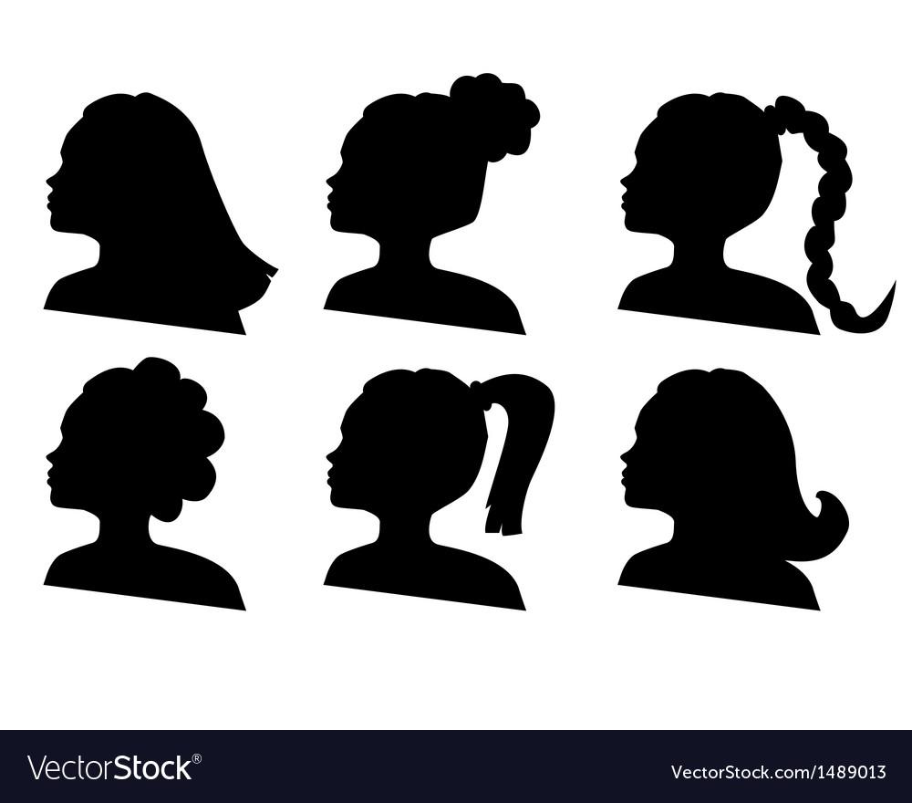 Hairdo vector | Price: 1 Credit (USD $1)