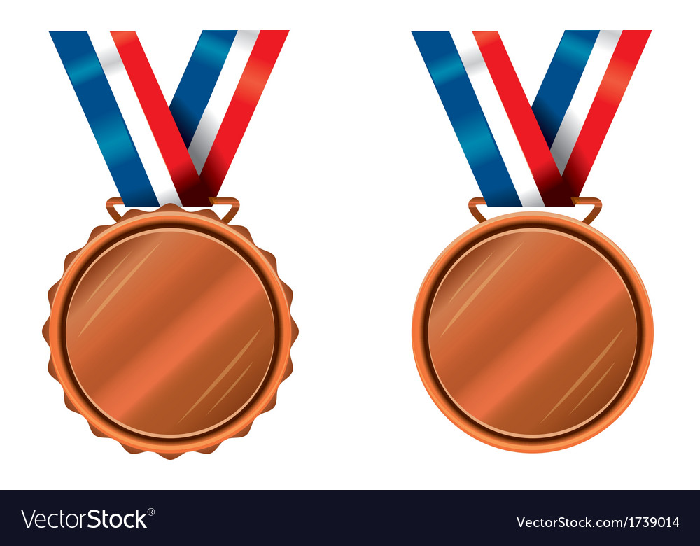Bronze medals vector | Price: 1 Credit (USD $1)