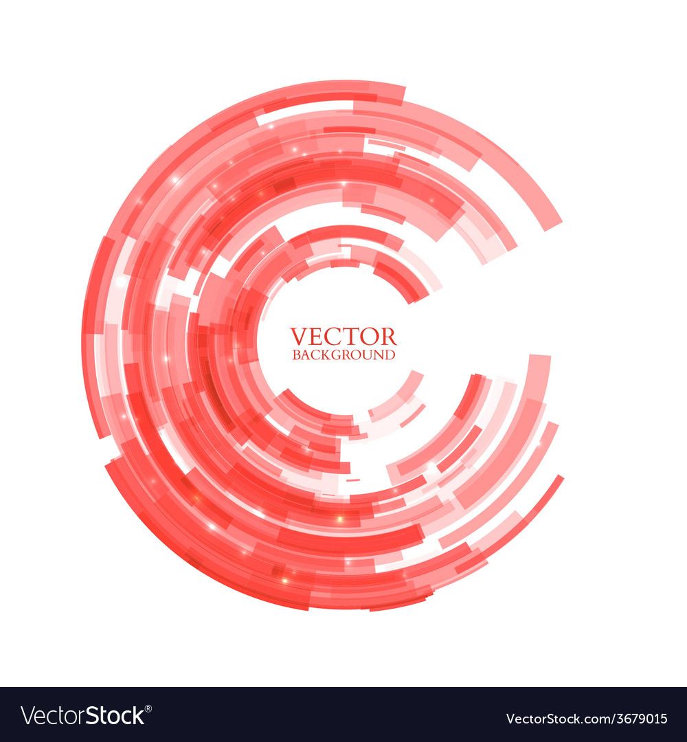 Abstract technology circle vector | Price: 1 Credit (USD $1)