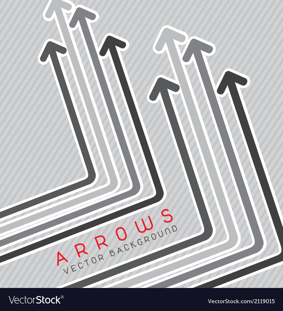 Arrows background vector | Price: 1 Credit (USD $1)