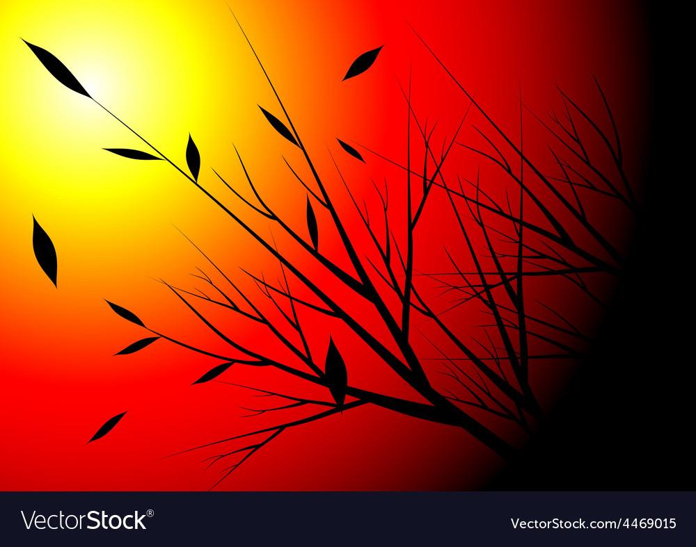 Autumn season vector | Price: 1 Credit (USD $1)