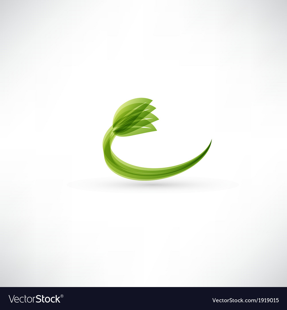 Eco icon vector | Price: 1 Credit (USD $1)
