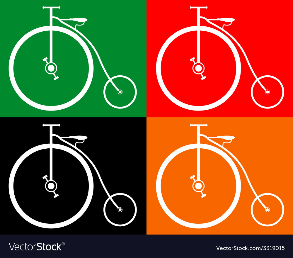 Old bike vector | Price: 1 Credit (USD $1)