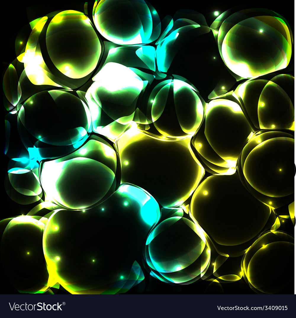 Shiny bubble background vector   Price: 1 Credit (USD $1)