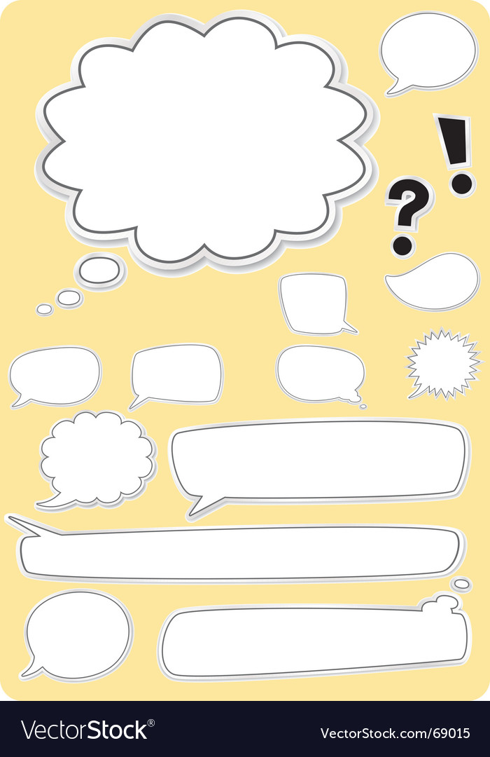 Text boxes vector | Price: 1 Credit (USD $1)
