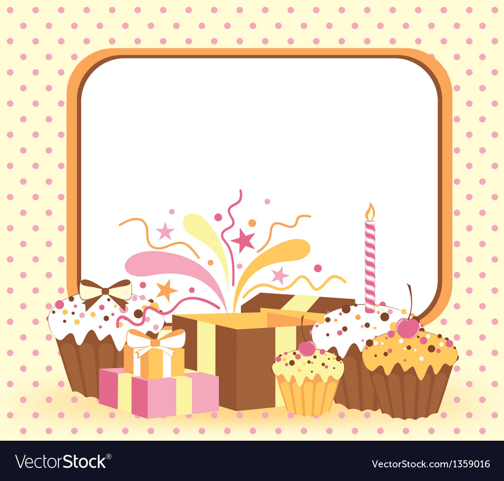 Celebration card vector | Price: 1 Credit (USD $1)