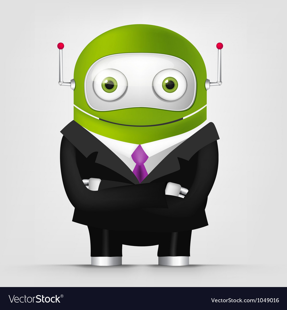 Cute robot vector | Price: 3 Credit (USD $3)