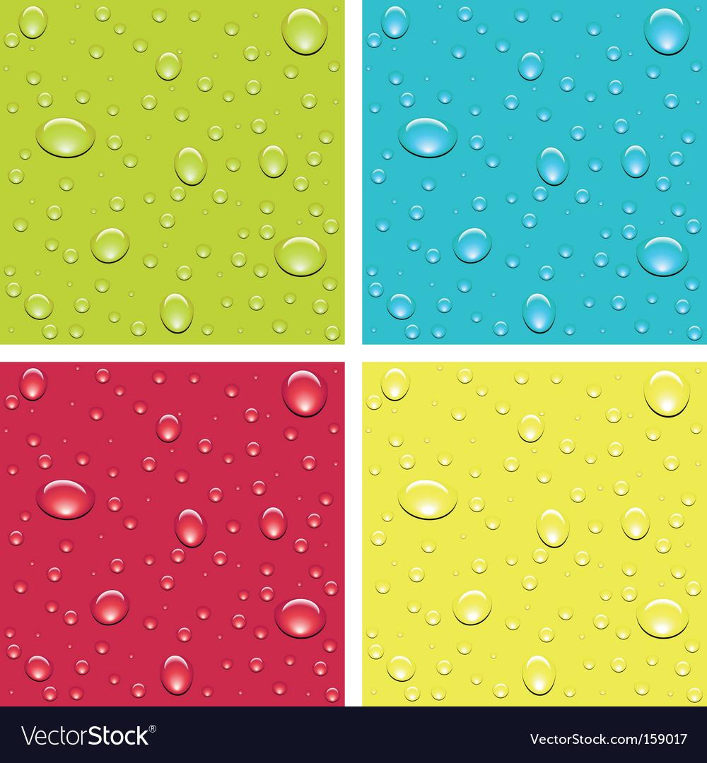Drops of dew vector | Price: 1 Credit (USD $1)